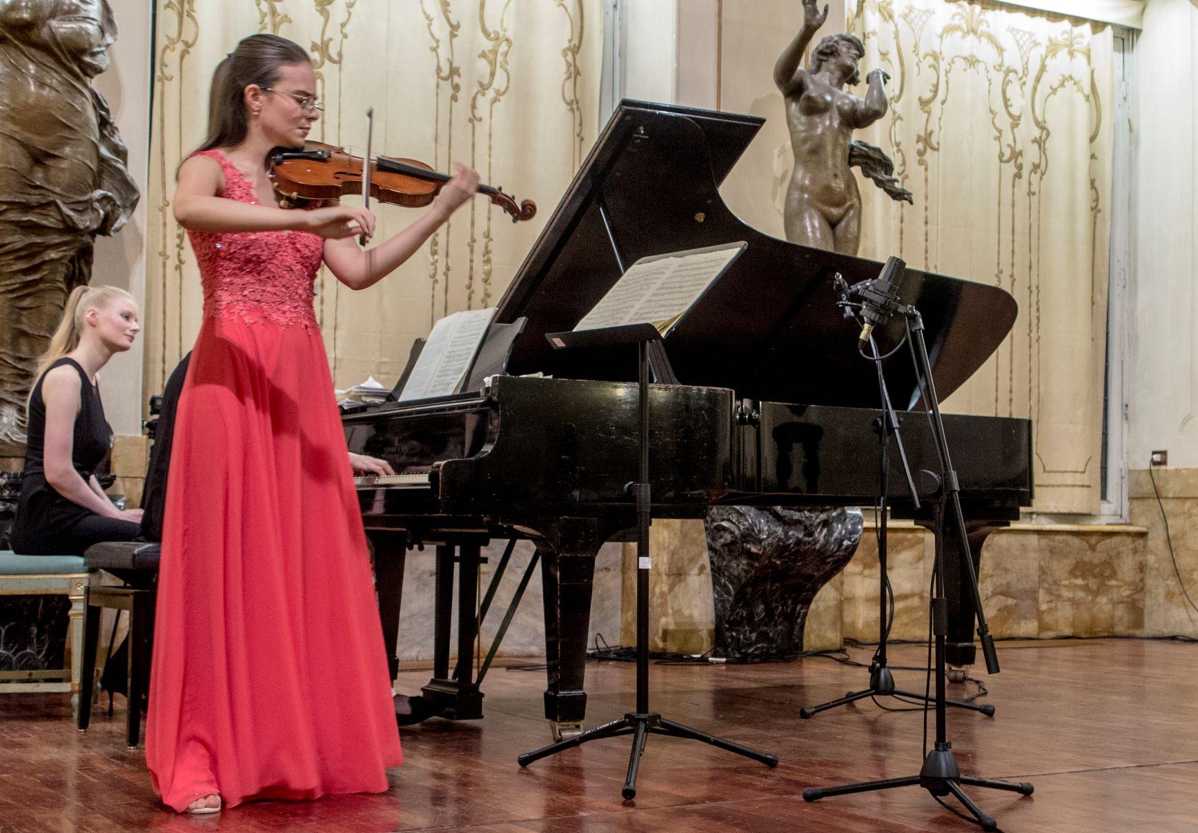 Borsista violino Chigiana 1