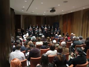 Oltre settanta persone tra Soci e loro ospiti per il Caminetto in musica