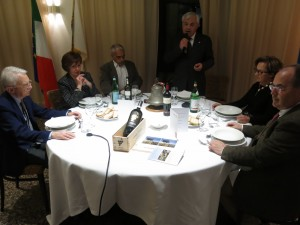 Da sinistra a destra: Mauro Picchi, Lucia Fornaciari, l'avvocato Carlo Cignozzi, il Presidente Fornaciari, Anna Picchi e Stefano Colombini Cinelli