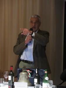 L'avvocato Carlo Cignozzi durante la sua esposizione