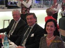 Stefano Maestrini e Elisabetta Miraldi con  l'amico Bernard Gervy