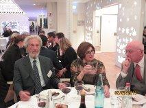 Francesco De Luca e Marilena Pirrelli conversano con l'amico Philippe Paletier Past President del Rc Valence