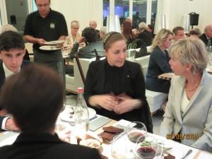 David Fiorentini e Carlotta Potenti al loro tavolo