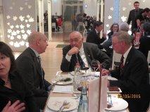 Il Presidente Eletto, Massimo Innocenti, conversa con gli amici tedeschi di Weilheim