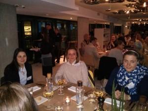 La nostra delegata Rotaract Anna Lisa Albano con Giulia Bonelli e Carlotta Potenti