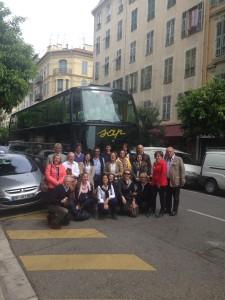 Foto di gruppo a Nizza: manxca l'autore dello scatto, Filippo