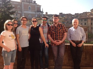 L'amico Mario Carmellini , con la moglie Maria,  si sono prodigati, con l'amico Leonardo Luchini, ad accogliere e coccolare i nostri giovani amici del Vtt