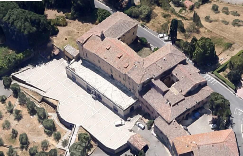 Vista aerea di Villa Uopini